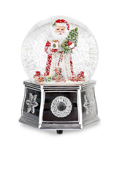 Royal Worcester Spode Santa Snow Globe, Small