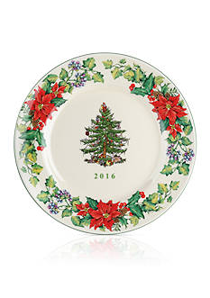 Royal Worcester Spode Christmas Tree Annual 2016 Collector Plate