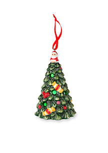 christmas tree multicolor led tree ornament - Porcelain Christmas Tree With Lights