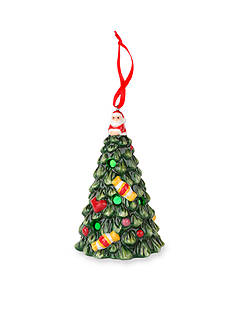 Royal Worcester Spode Christmas Tree Multicolor LED Tree Ornament