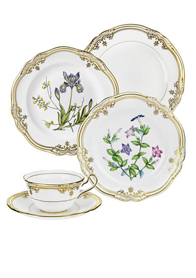 Spode Stafford Flowers and Stafford White