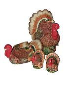 Spode Woodland Harvest Turkey Collection