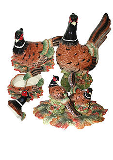 Spode Woodland Harvest Pheasant Collection
