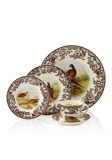 Royal Worcester Spode Woodland Dinnerware and Accessories