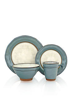 Sango Centric Emerald 16-pc. Dinnerware Set
