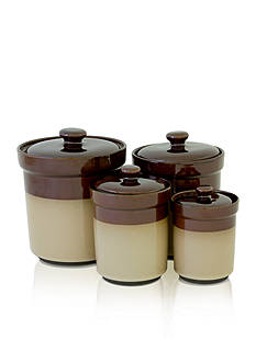Sango Nova Brown Canisters Collection