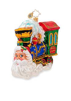 Radko Choo Choo Claus Ornament