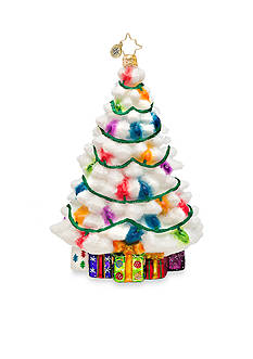 Christopher Radko™ 6.5-in. Winter Splendor Spruce Ornament
