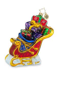 Christopher Radko™ 4.5-in. Seasonal Sleigh Ornament