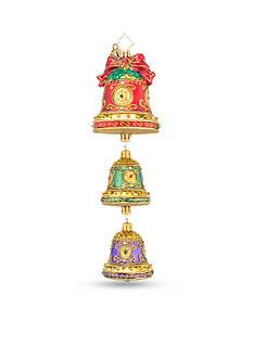 Christopher Radko™ 8-in. Trio of Christmas Bells Ornament