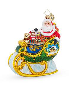 Christopher Radko™ 5-in. Village Sleigh Ride Ornament