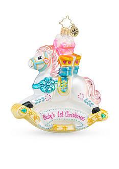Christopher Radko™ 4.5-in. Rockin' Newborn Baby's First Christmas Ornament