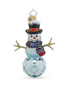 Christopher Radko™ 4.5-in. Diamond Frosty Ornament