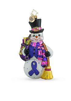 Christopher Radko™ 6-in. Snow Swept Memories Alzheimer Awareness Ornament