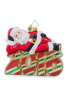 Christopher Radko™ 5-in. A Restful Year 2016 Ornament