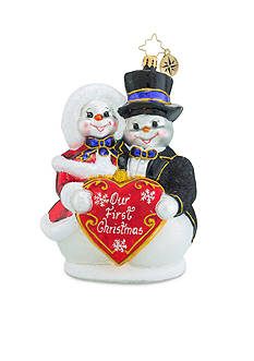 Christopher Radko™ 5.5-in. Snowy Sweethearts Ornament