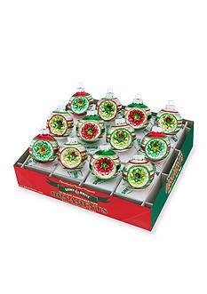 Christopher Radko™ 12-Piece Holiday Splendor Round Ornament Set
