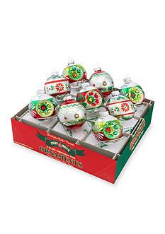 Christopher Radko™ 9-Piece Holiday Splendor Decorated Round Ornament Set