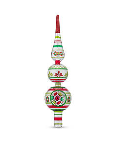 Christopher Radko™ 11.5-in. Holiday Splendor Decorated Finial Topper
