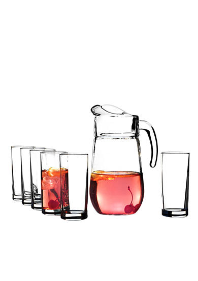 Crystal Clear Soho 7 Piece Pitcher Set