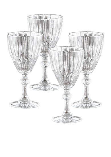 Crystal Clear Reflections 4-pack Wine Glasses 8.25-oz.