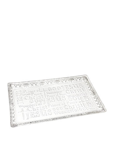 Crystal Clear Devotion God Tray