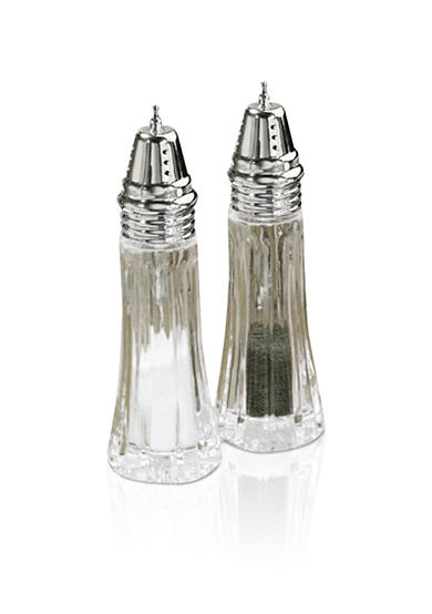 Crystal Clear Alexandria Salt & Pepper Shakers