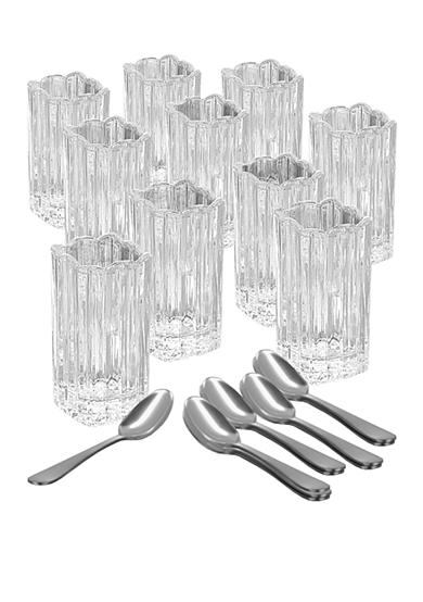Crystal Clear Alexandria 21-Piece Taster Shot Set