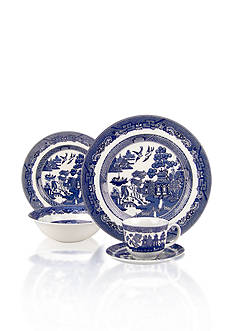 Johnson Brothers Willow Blue Dinnerware