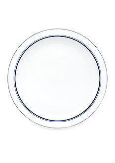 Dansk Christianshavn Blue China Round Platter - Online Only
