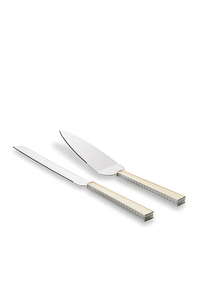 Vera Wang With Love Pearl-Handled Cake Knife & Server Set
