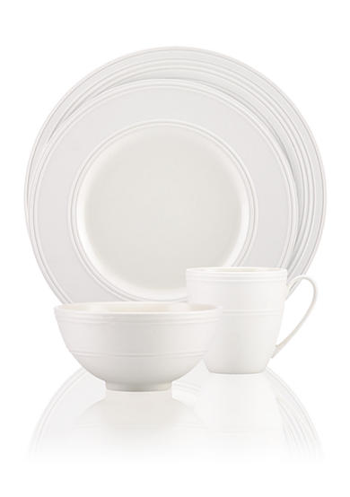 kate spade new york® Fair Harbor White Truffle Dinnerware