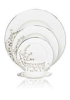 kate spade new york ® Gardner Street Platinum Dinnerware
