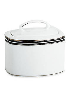 kate spade new york® UNION ST SUGAR W/LID