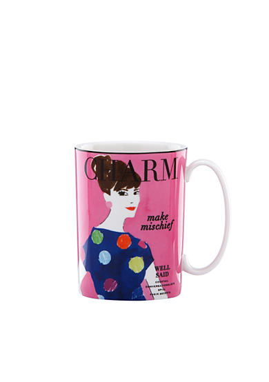 kate spade new york® Make Headlines Make Mischief Mug