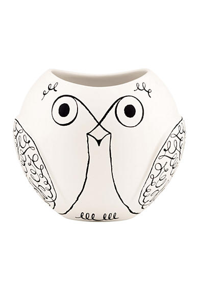 kate spade new york ® Woodland Park Short Owl Vase