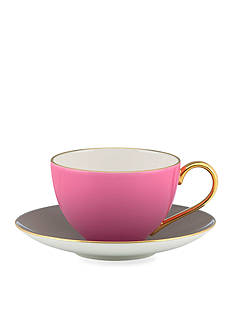 kate spade new york® Greenwich Grove Cup and Saucer Set - Pink - Online Only
