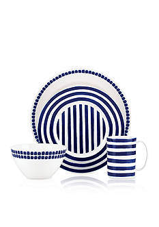 kate spade new york Charlotte Street North Blue 4-pc Place Setting