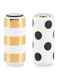 kate spade new york® Fairmont Park Dot/Stripe Salt & Pepper Set