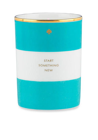 kate spade new york® Start Something New Turquoise Scented Candle - Online Only