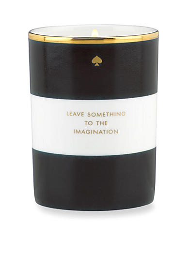 kate spade new york® 'Leave Something to the Imagination' Black Candle
