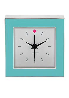 kate spade new york® Cross Pointe Clock - Turquoise