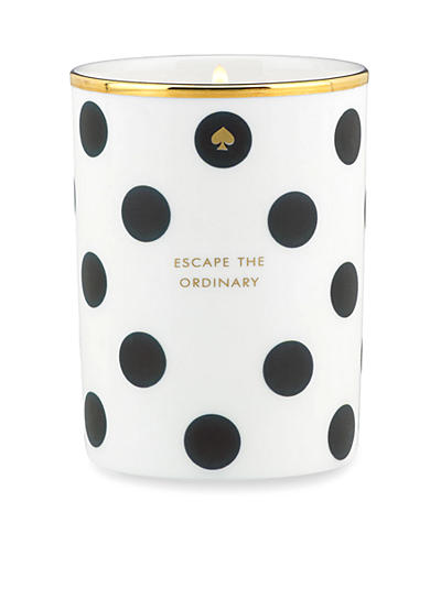 kate spade new york® 'Escape the Ordinary' Black Dot Candle