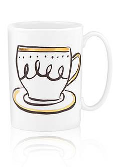 kate spade new york® Daisy Place Creme de la Creme Mug