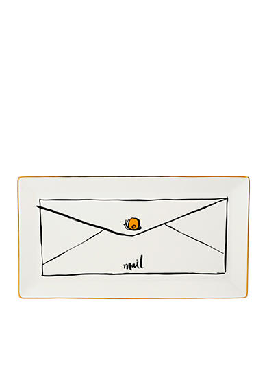 kate spade new york® Daisy Place Large Snail Mail Tray