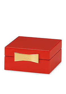 kate spade new york® Red Square Jewelry Box