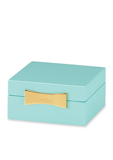 kate spade new york® Turquoise Square Jewelry Box