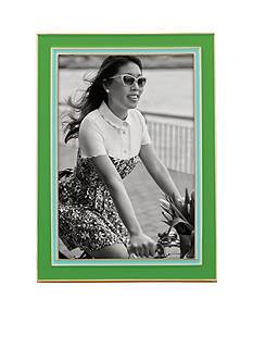 kate spade new york® Lacquer 4x6 Frame Green/Turquoise