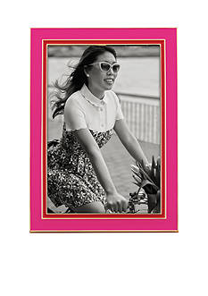 kate spade new york® Lacquer 4x6 Frame Pink/Red
