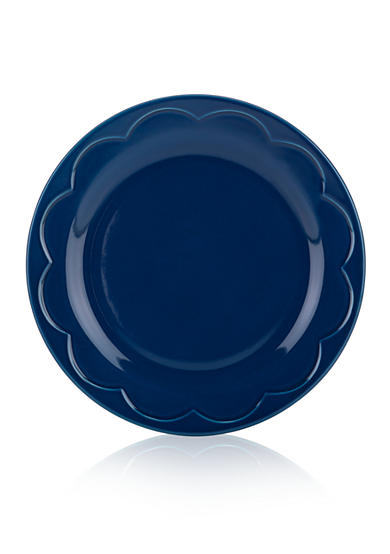 kate spade new york® all in good taste Sculpted Scallop Accent Plate